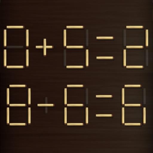 Math Stick Match Puzzle