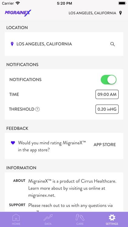 MigraineX screenshot-3