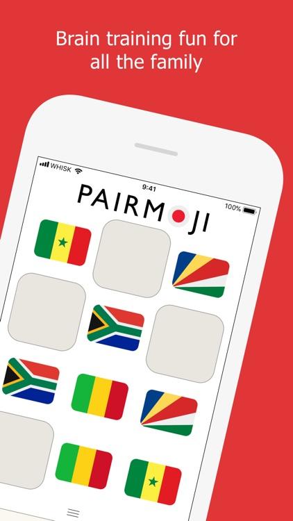 Pairmoji - World Flags screenshot-4