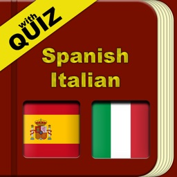 Spanish Italian Dictionary with Quiz