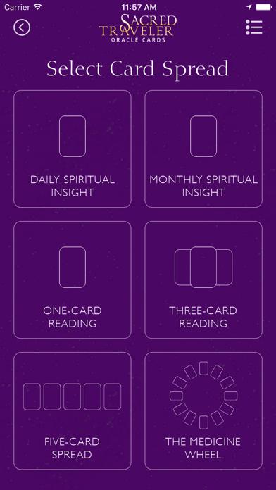 Sacred Traveler Oracle Cards screenshot 2