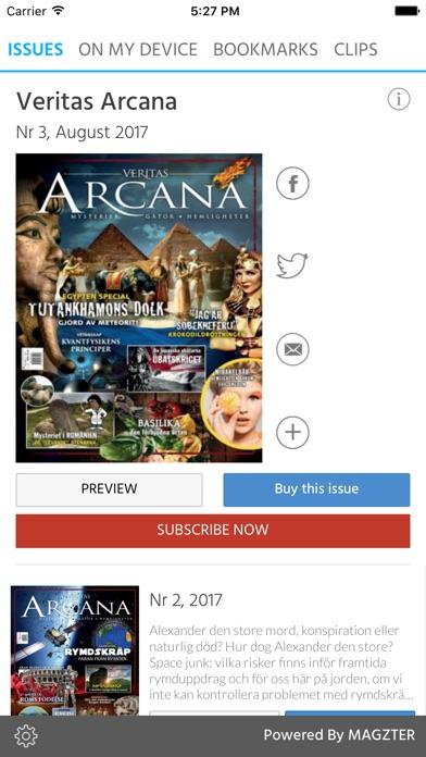 Veritas Arcana screenshot 1