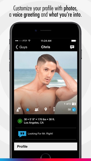 gay dating app on iphone