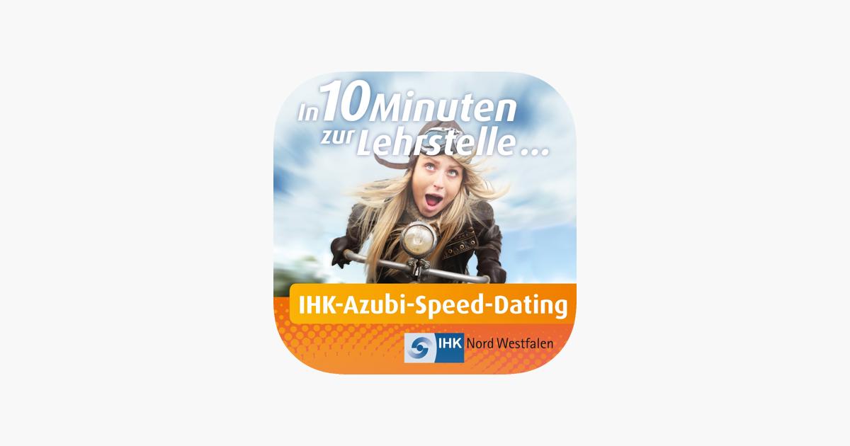 Einen ersten Eindruck zum Ablauf eines Azubi-Speed-Datings erhältst du im Informationsvideo der IHK Nord Westfalen.