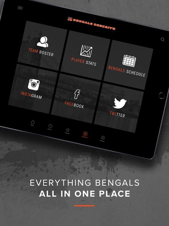 Bengals DeskSite