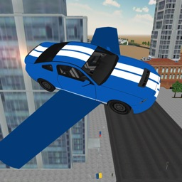 Flying Car Driving Simulator 3D