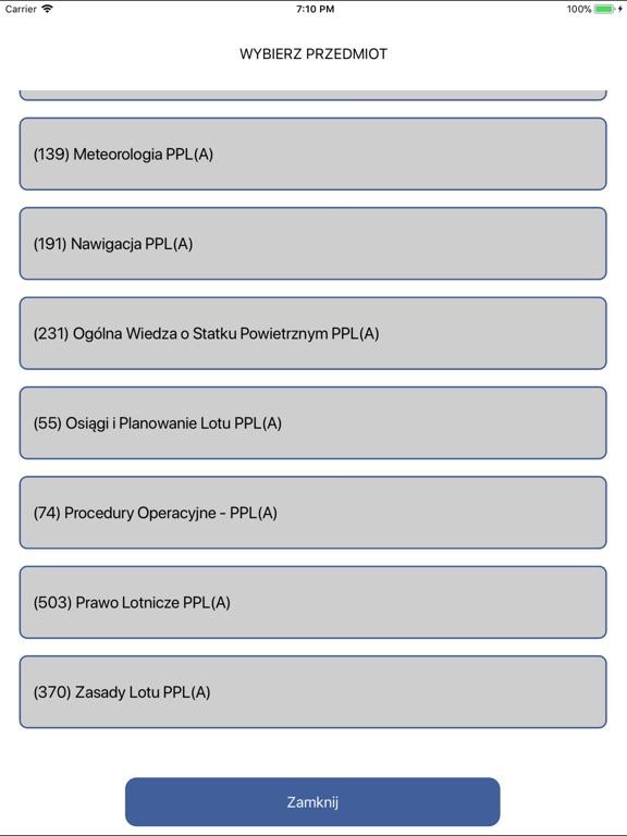 Egzamin ULC PPL(A) screenshot 8