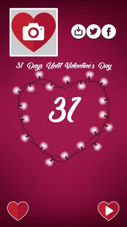 Countdown to Valentine's Day screenshot-4