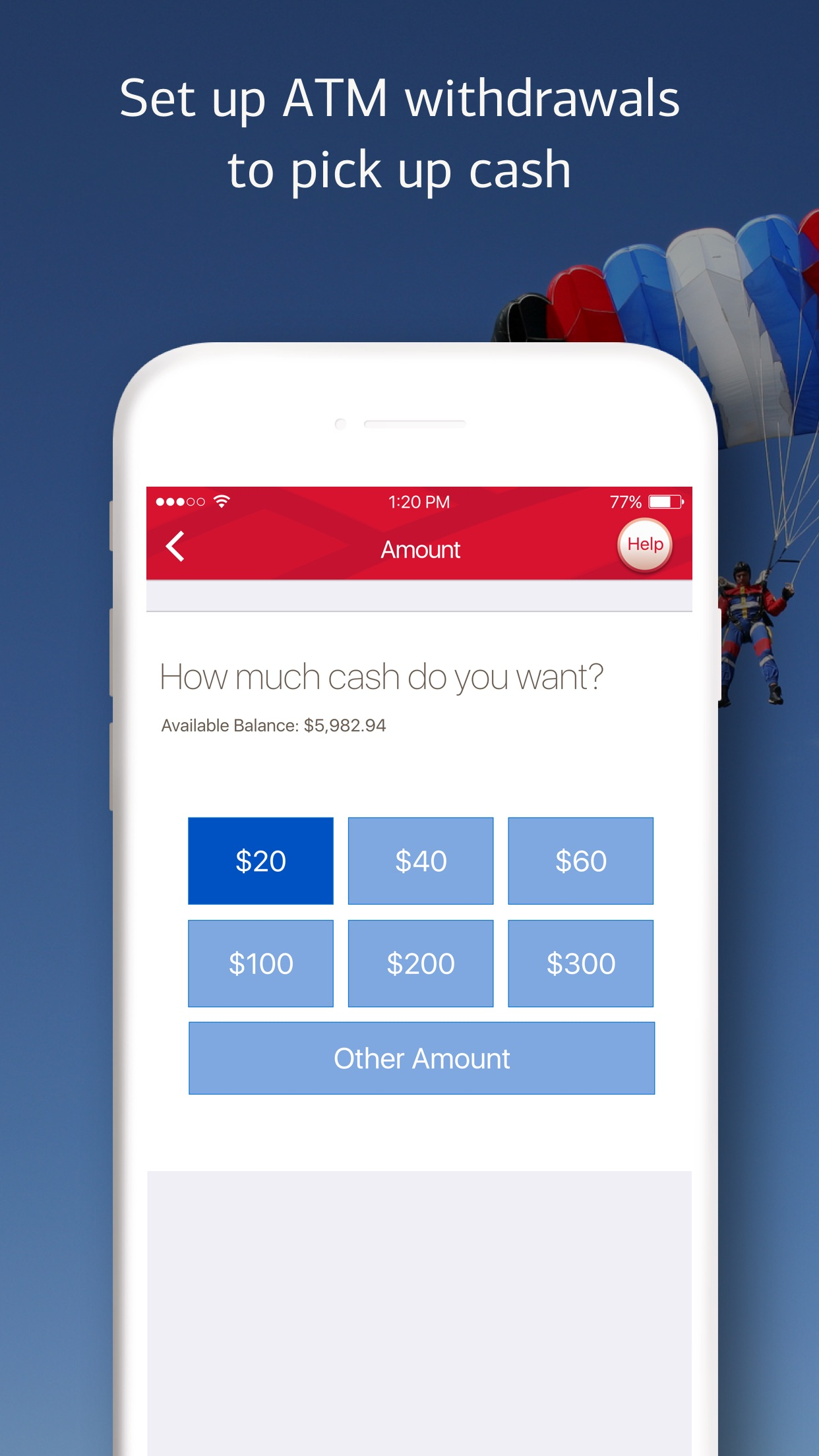 Bank of America - Mobile Banking Screenshot