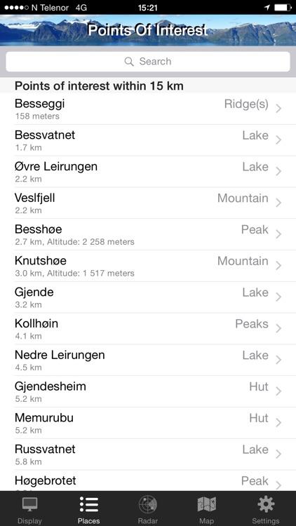 In Sight - Norway+ offline screenshot-3
