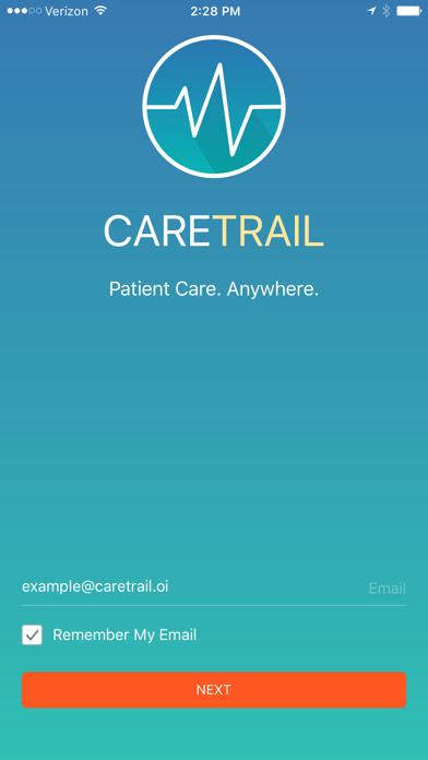 CareTrail screenshot two