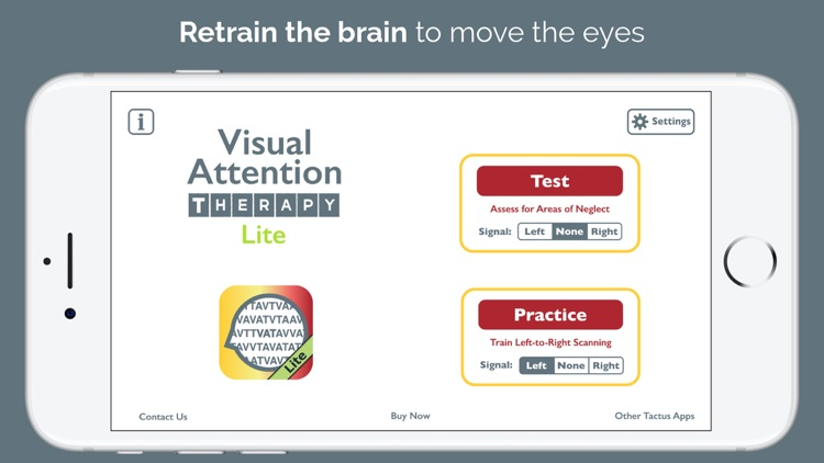 Visual Attention Therapy Lite