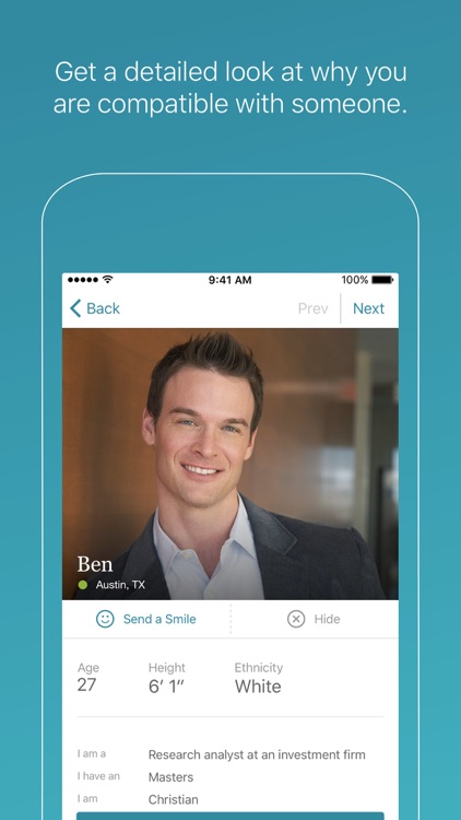 Compatible Partners Dating App screenshot-2