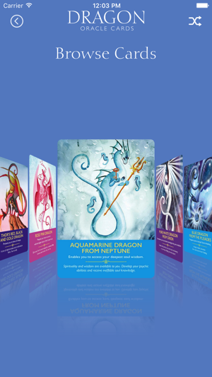 Dragon Oracle Cards on the App Store