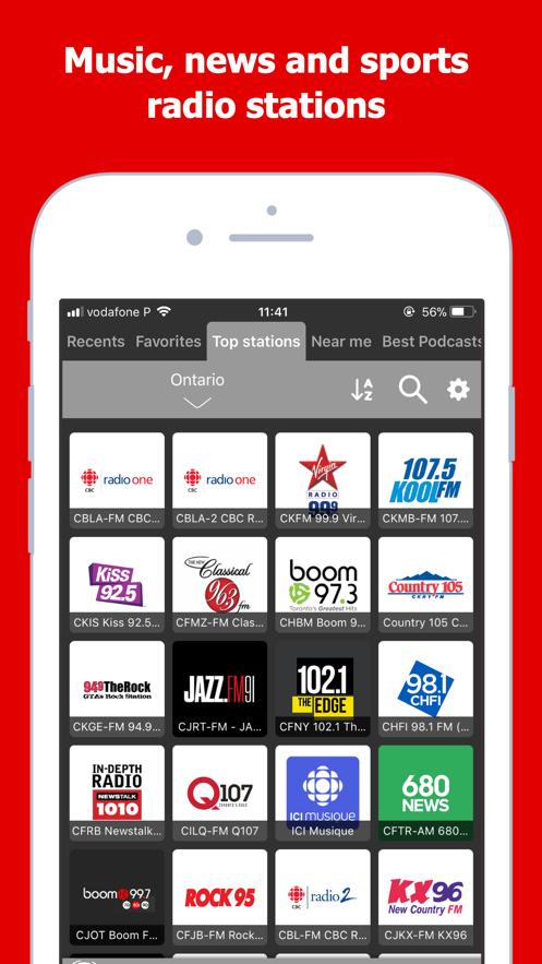 Radio Canada: Live AM FM Tuner】应用信息- iOS App基本信息