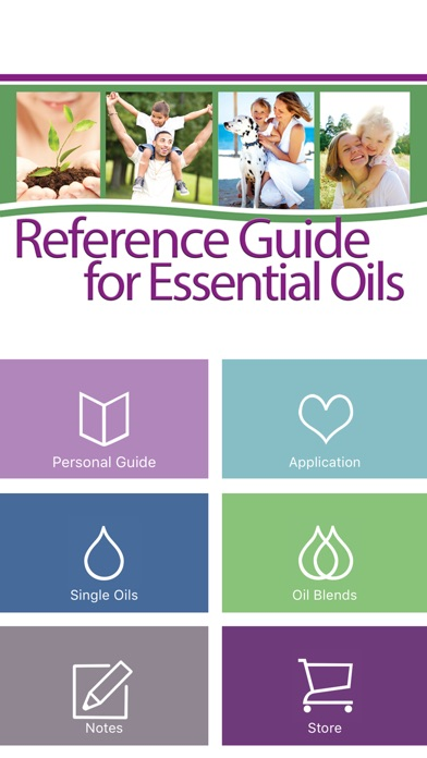 Screenshot for Ref Guide for Essential Oils in Germany App Store