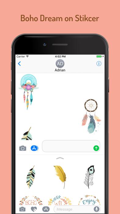 Boho Dream Sticker Pack screenshot four