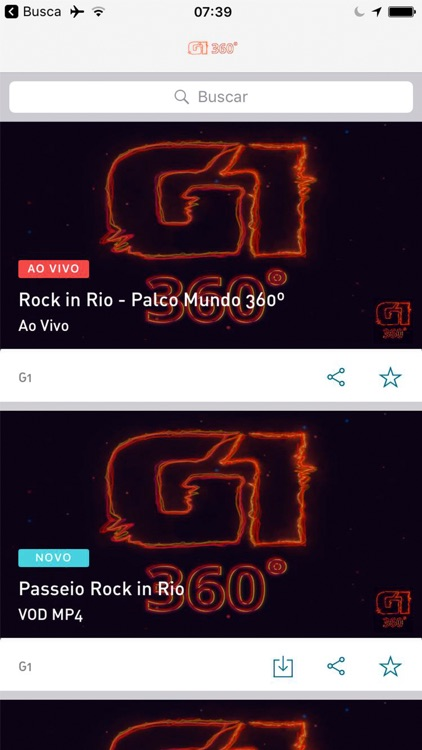 G1 360 Rock in Rio