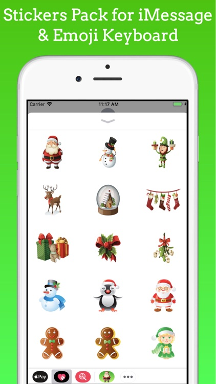 Christmas Stickers & Emojis
