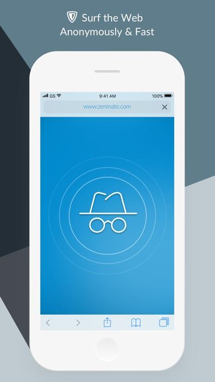 ZenMate VPN & WiFi Proxy screenshot-3