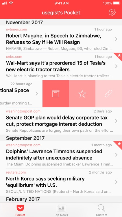 Gist - News Summaries