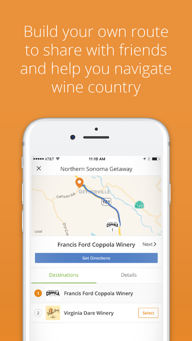 Wine Routes screenshot two
