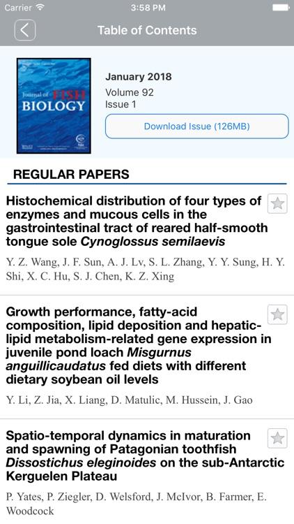 Journal of Fish Biology screenshot-4
