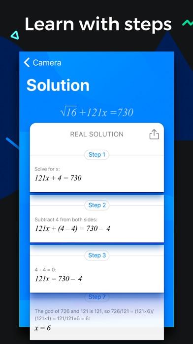 SnapCalc - Math Problem Solver screenshot 3