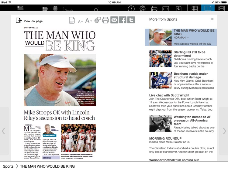 The Oklahoman Print Replica screenshot-4