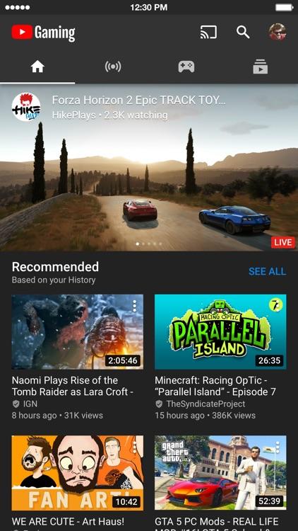 YouTube Gaming screenshot-0