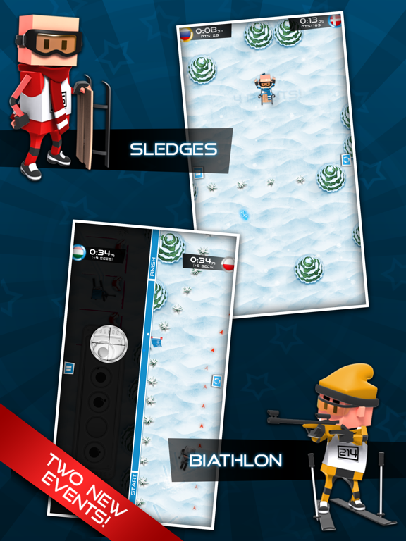 Screenshot #4 pour Flick Champions Winter Sports