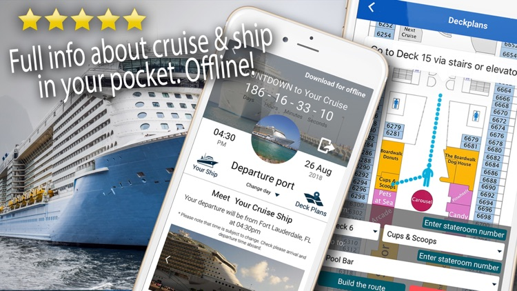 Cruise Itinerary App. CruiseBe screenshot-0