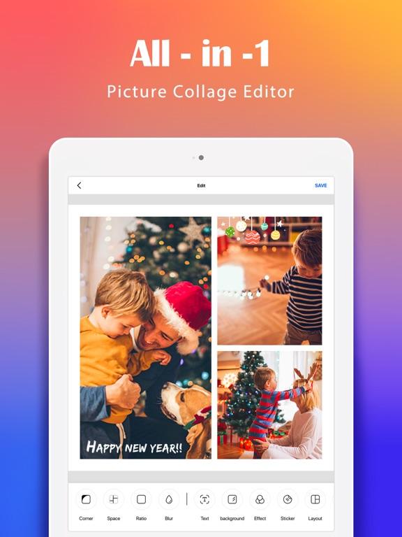 Photo Collage ~ Photo Editor-ipad-0