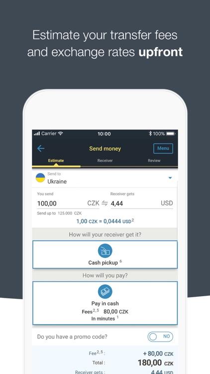 WesternUnion CZ Money Transfer