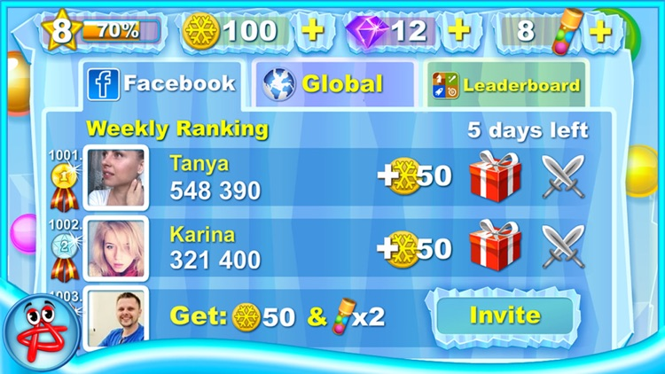 Tap The Bubble 2:Penguin Party screenshot-5