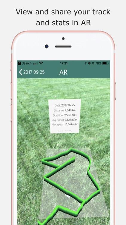 Sports Tracker AR