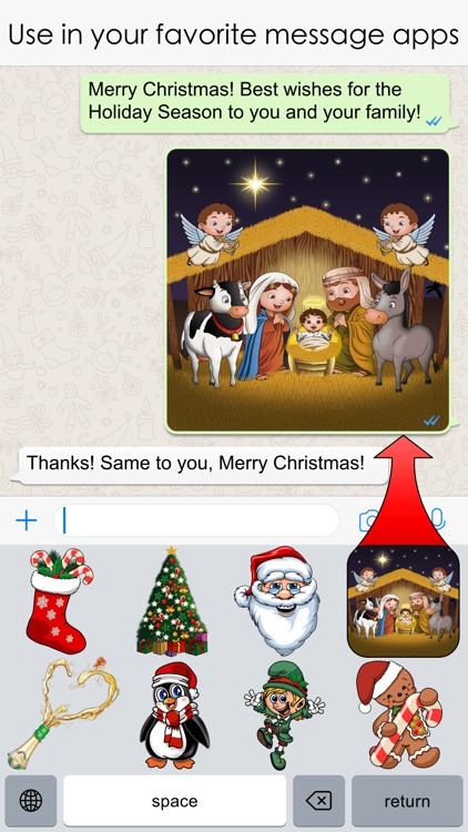 Xmas Emojis screenshot-3