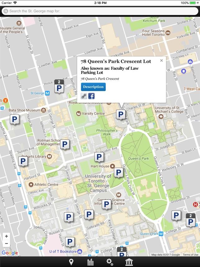 U O F T Campus Map.U Of T Map On The App Store