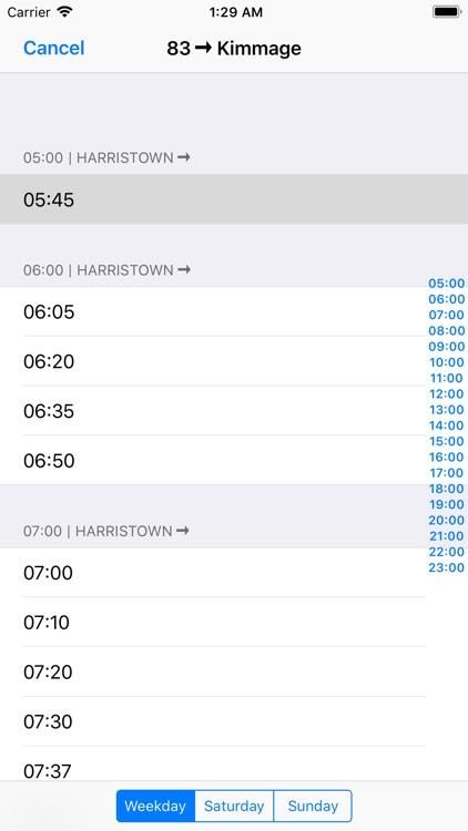 Dublin Bus Timetables screenshot-4