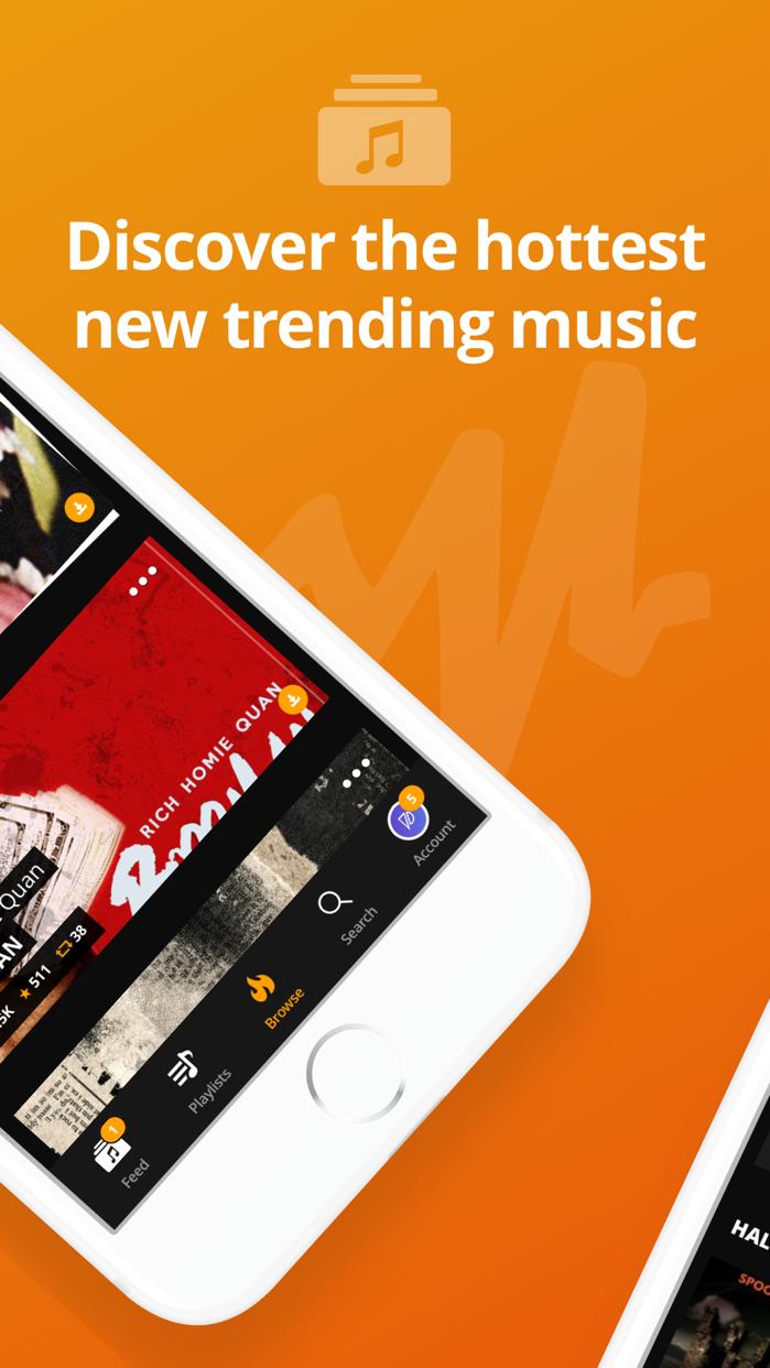 Audiomack Music & Mixtape App Screenshot