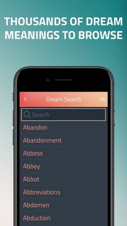 iDream - Dream Dictionary