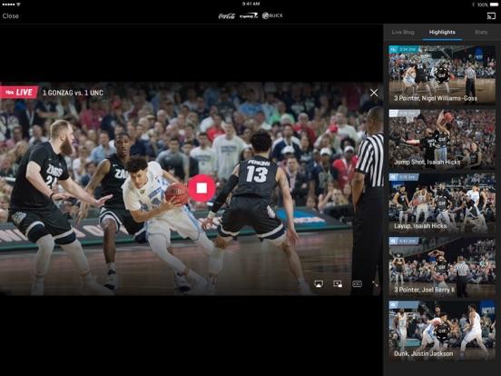 NCAA March Madness Live iPad