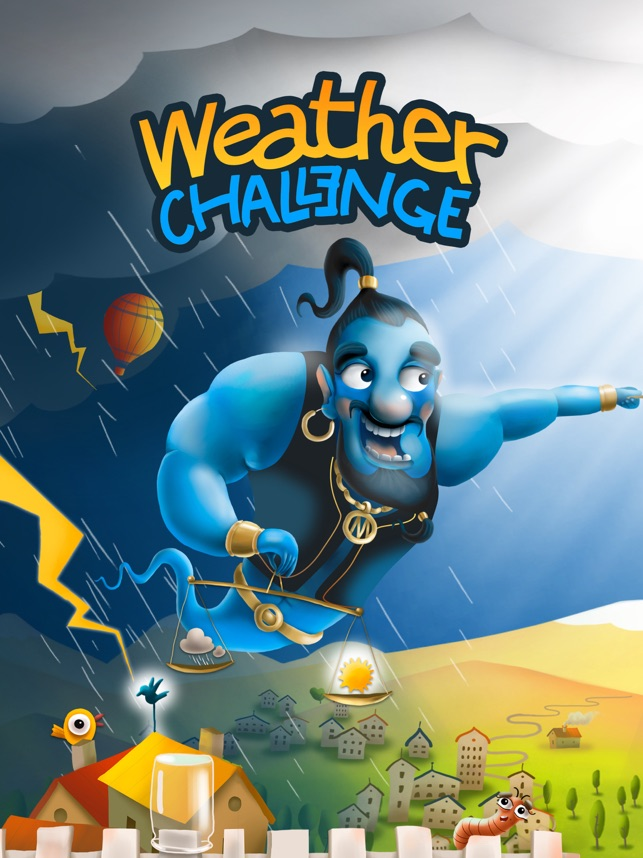 Weather Challenge turns one of your greatest obsessions into a game Image