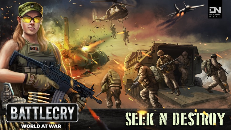BattleCry: World War Game