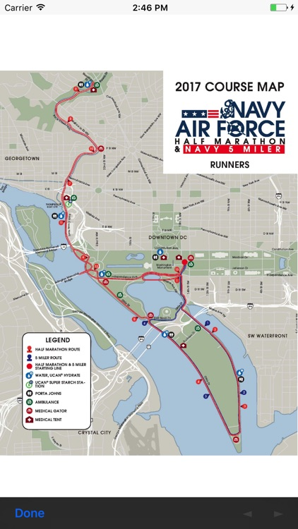 Navy Air Force Half Marathon