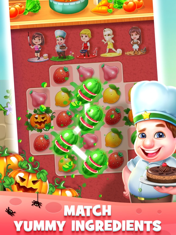 Fantastic Chefs: Match 'n Cook для iPad