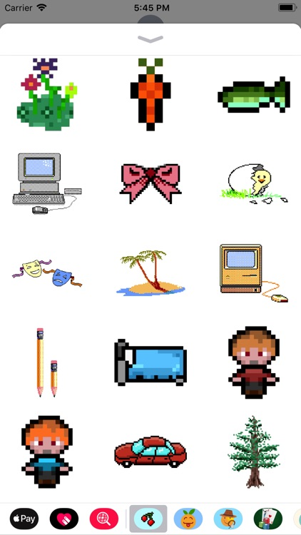 8Bit Pixel Video Game Stickers