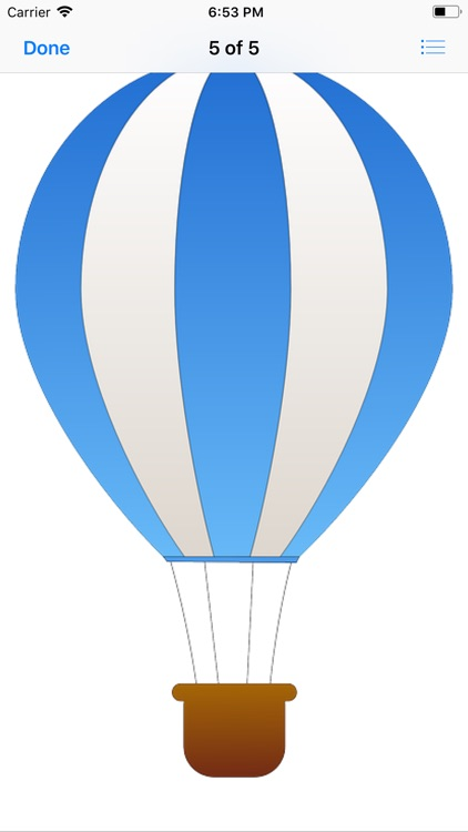 Lotsa Hot Air Balloon Stickers screenshot-6