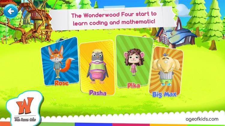 Math Coding Wonderwood screenshot-9
