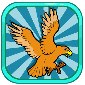 Coloring Book Eagle And Friends Page app